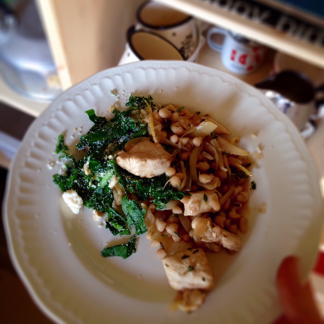 Beachhutcook cooks Riverford Recipe Box Lemon and Thyme Chicken