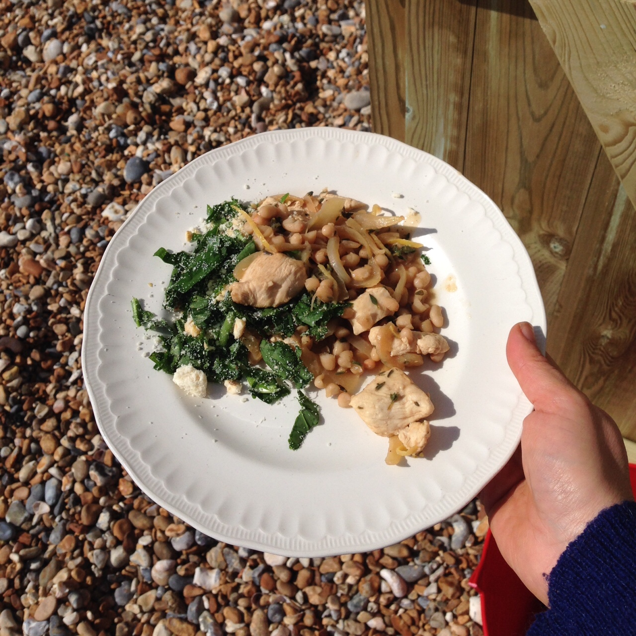 Beachhutcook cooks Riverford Recipe Box Lemon and Thyme Chicken