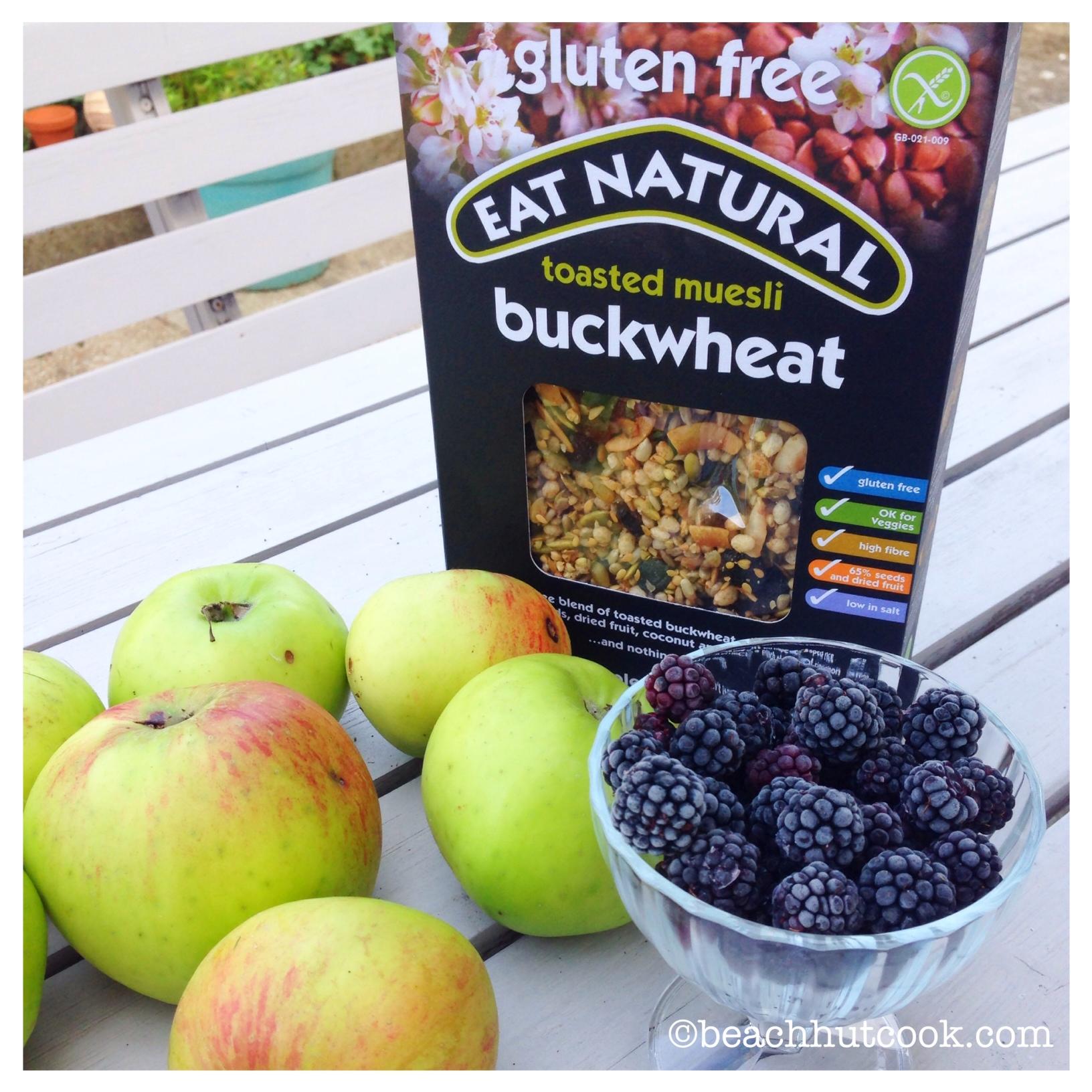 Eat Natural Muesli Crumble Recipe by Beachhutcook