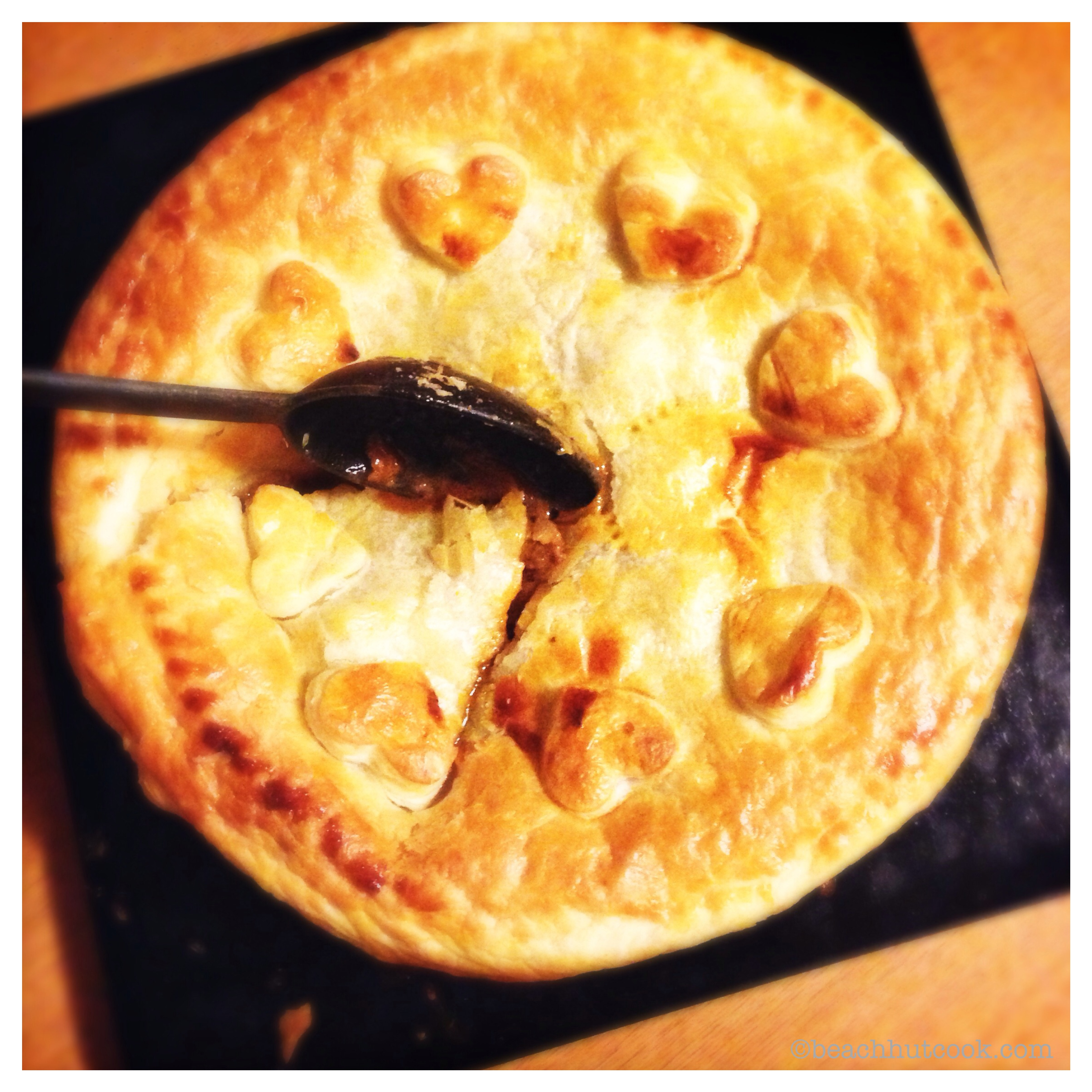 Easiest Dinner Party Menu Ever by Beachhutcook. Beef & Stout Pie