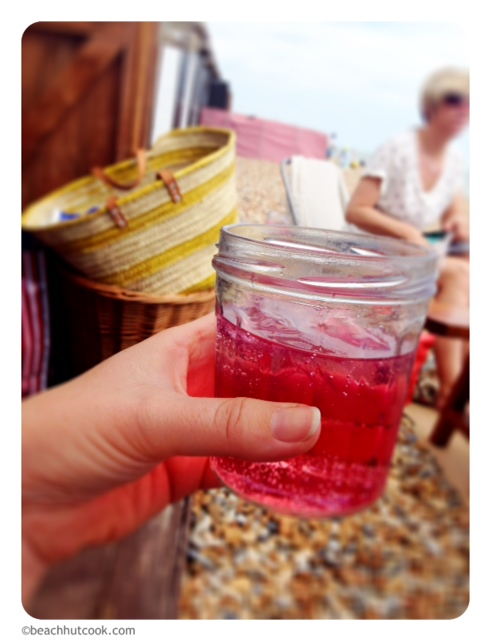 Beachhutcook's Elderflower Gin and Other Flavours