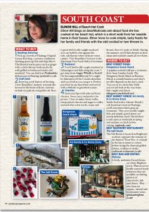 Elinor Hill aka Beachhutcook's article for Sainsburys Magazine