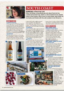 Elinor Hill aka Beachhutcook's article for Sainsburys Magazine