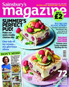 Beachhutcook's article in Sainsbury's Magazine