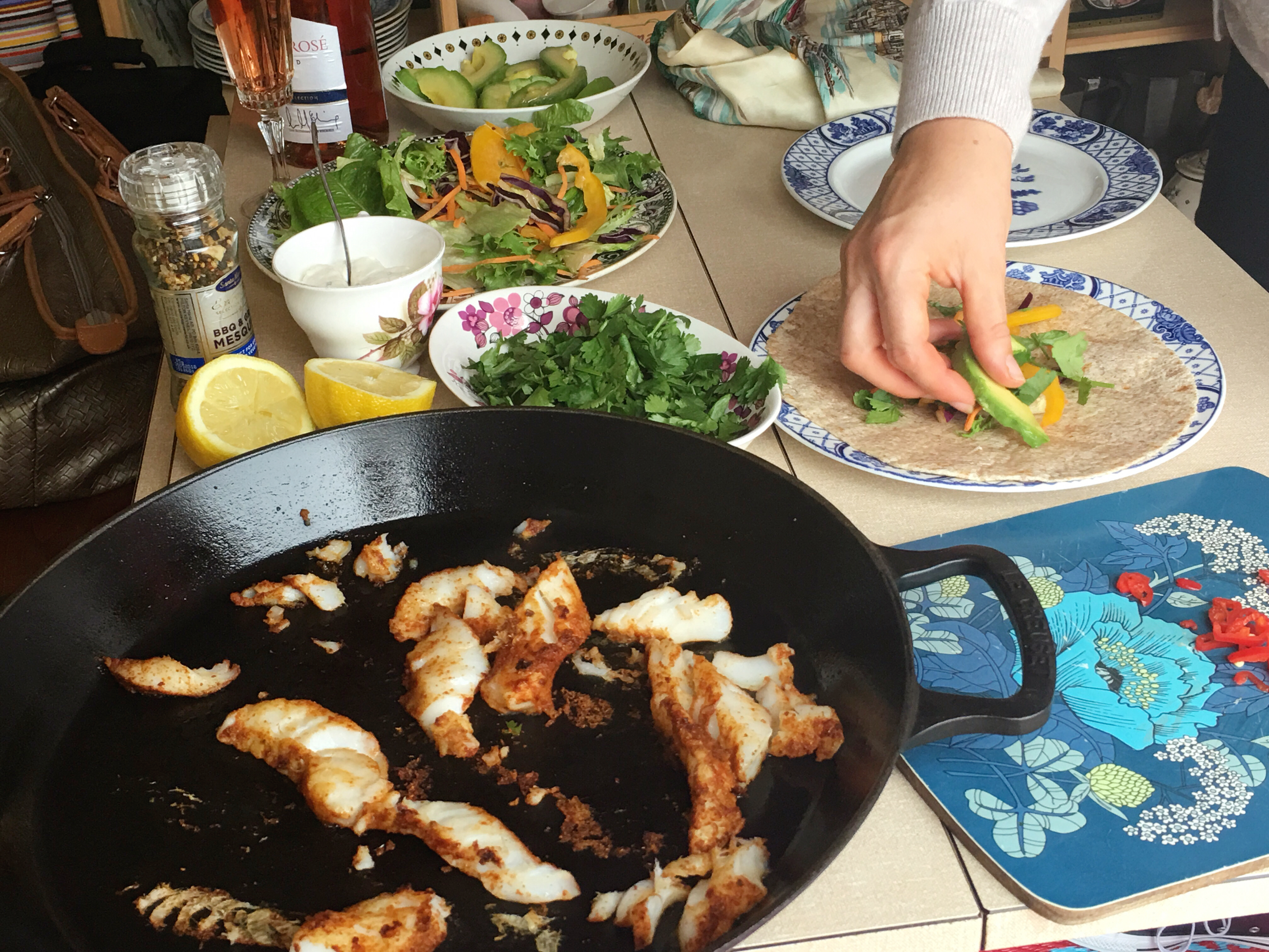 Beachhutcook's Fish Tacos