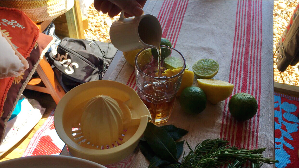 Beachhutcook's Spanish Brandy Botanical Siesta Cocktail for Foodies 100 YouTube