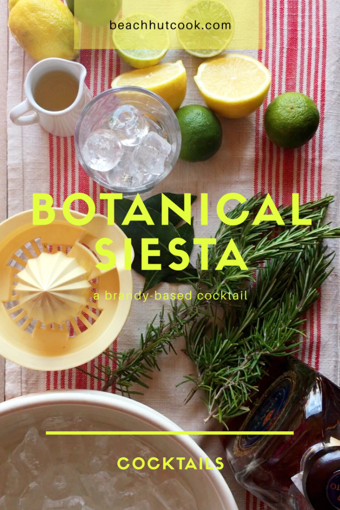 Botanical Siesta Cocktail Beachhutcook