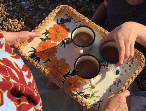 Beachhutcook's Orange and Star Anise Hot Chocolate