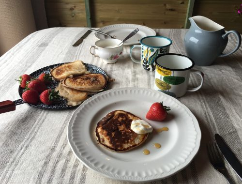 Gingerbread Buttermilk Pancakes by Beachhutcook