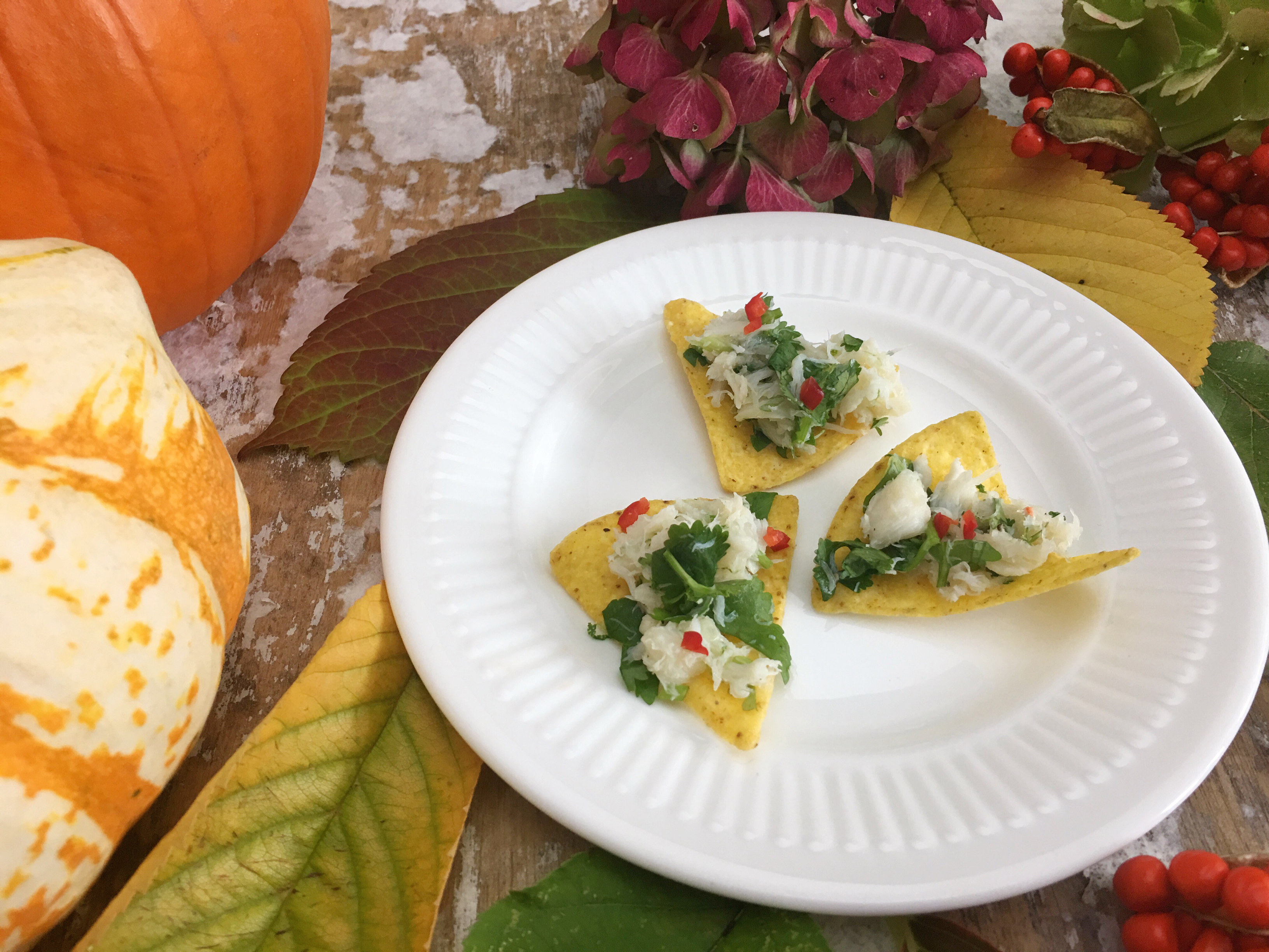 Day of the Dead Crab Canapes by Beachhutcook Santa Maria