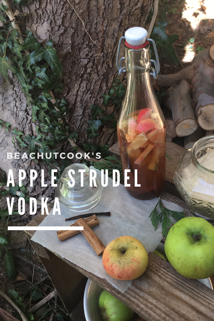 Apple Strudel Vodka by Beachhutcook. Getting your Hygge on.