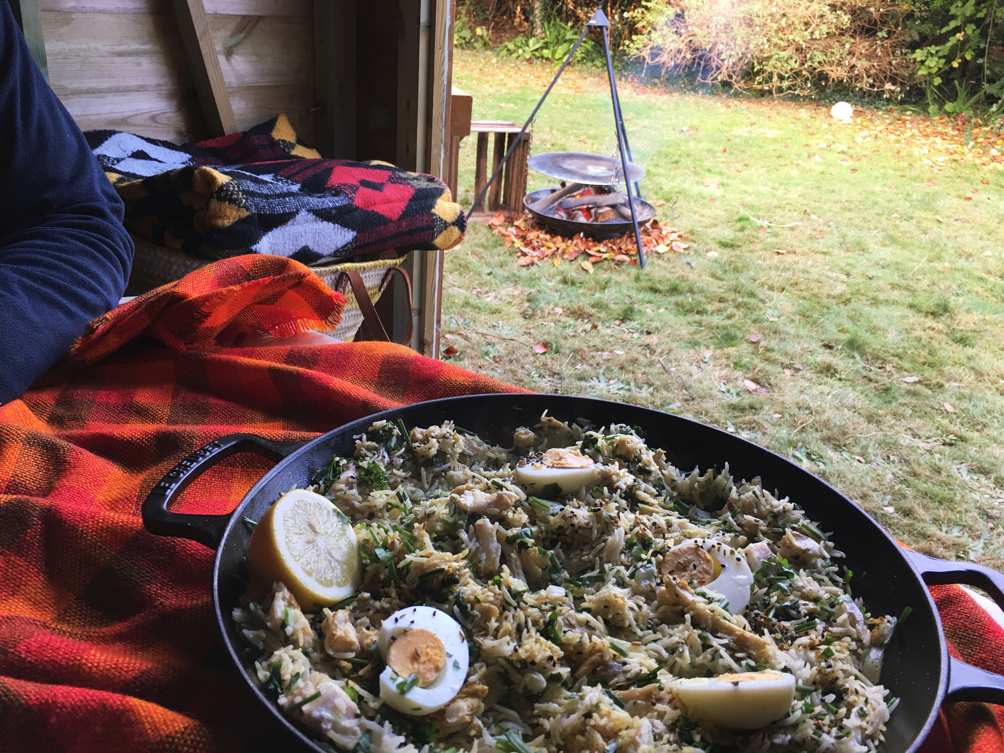 Tilda Rice Aromatic Spices + Beachhutcook Kedgeree