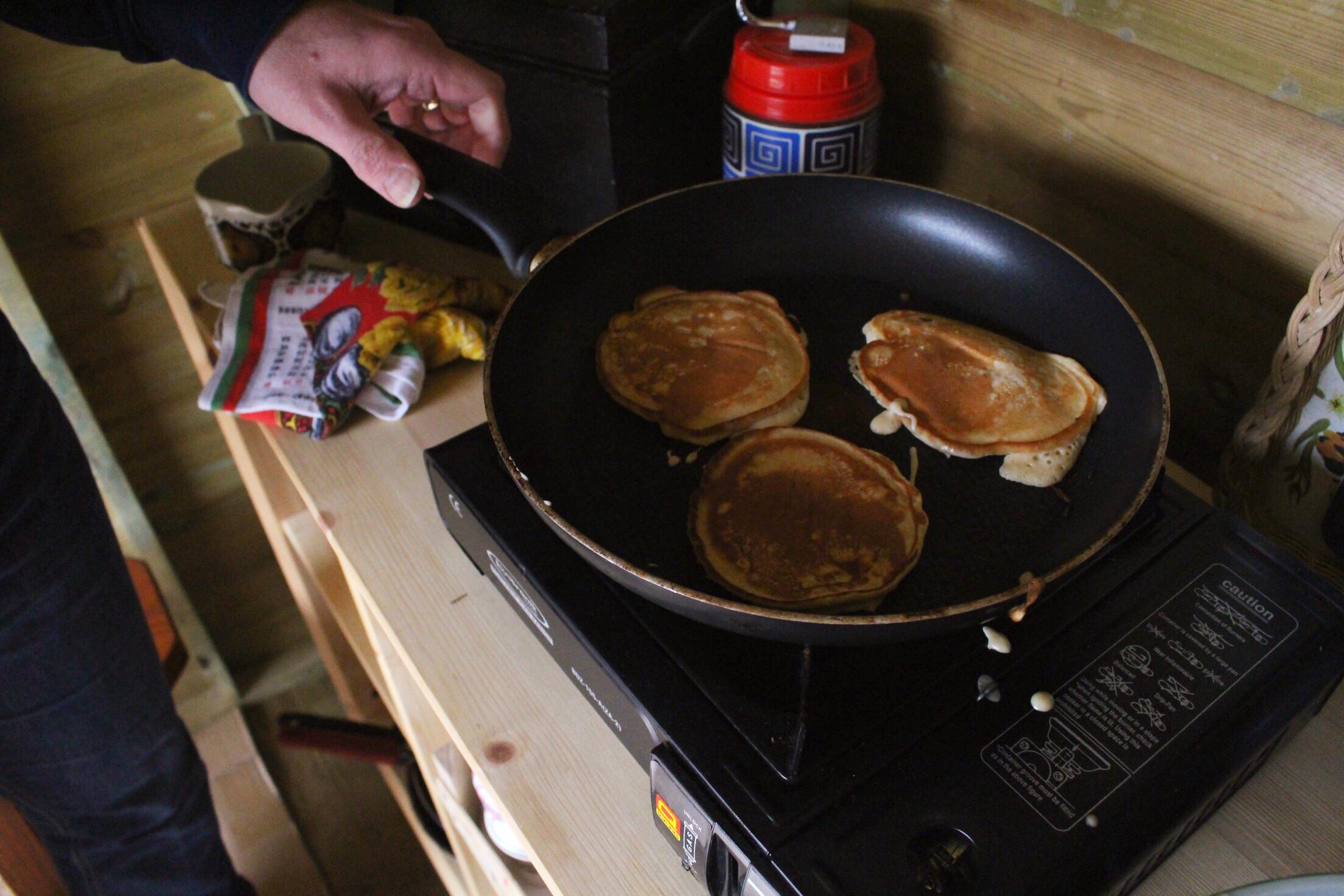 Beachhutcook's Salted Caramel Pancakes