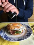 breakfast+ bagel+egg+brunch+beachhutcook