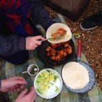 Chicken Kuhbani and Corriander Chutney by Beachhutcook