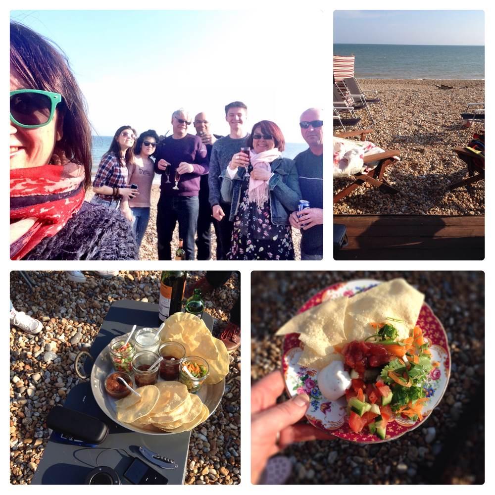 Curry Night on the Beach by Beachhutcook