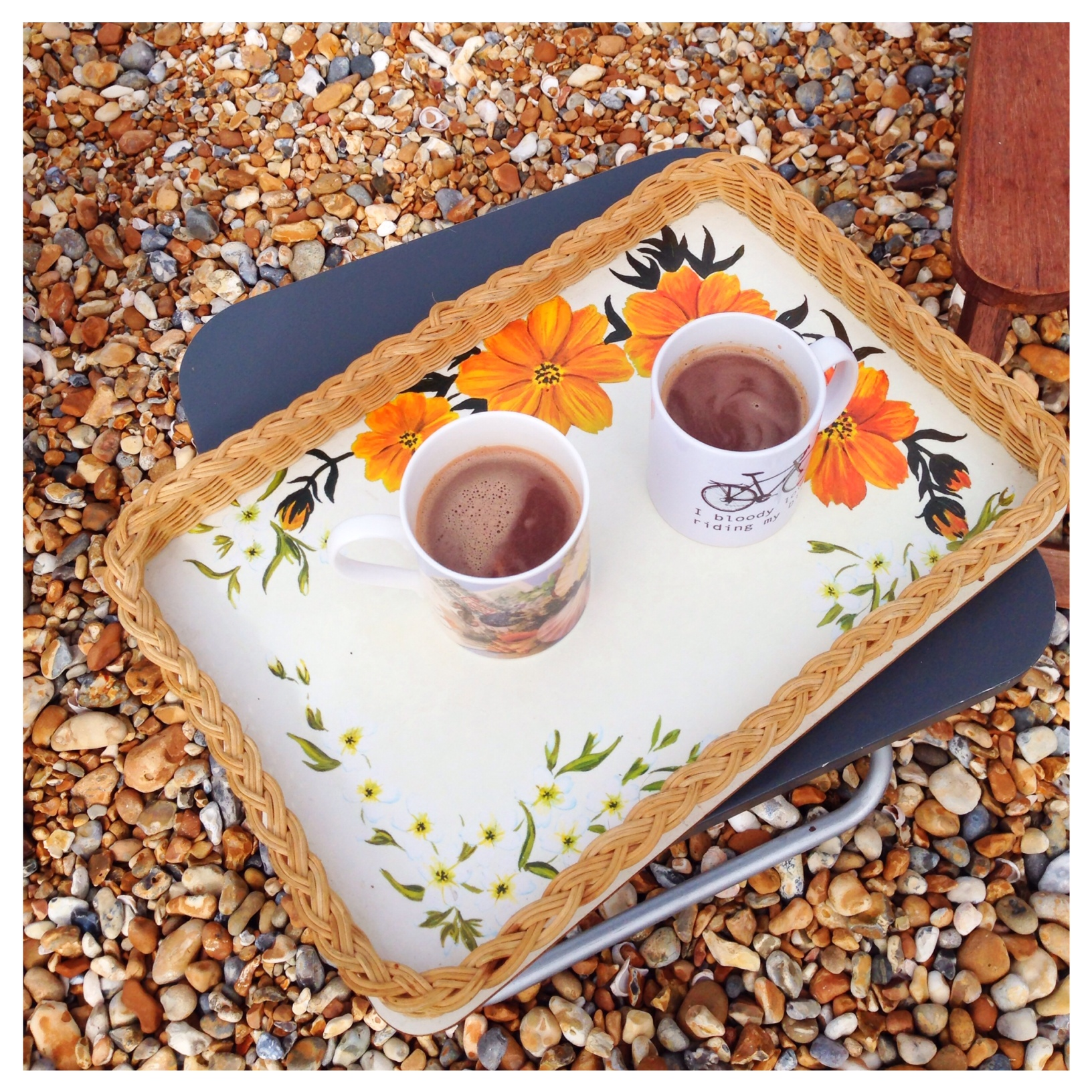 Beachhutcook's Orange and Geranium Hot Chocolate