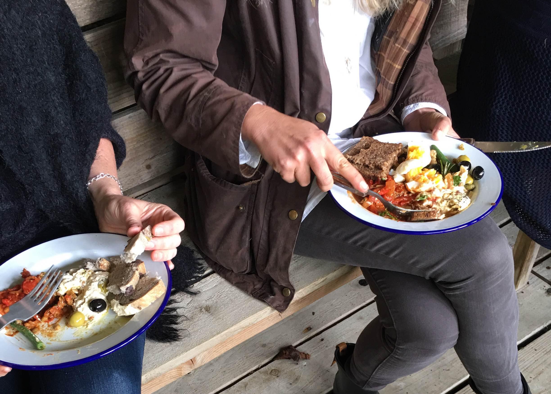 beachhutcook's lentil salad for sisterhood camp