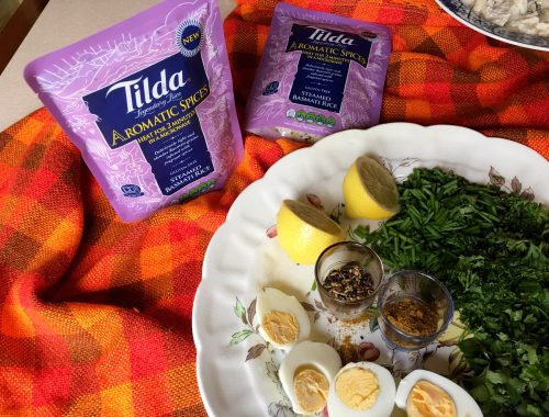 Tilda Rice Aromatic Spices + Beachhutcook Kedgeree