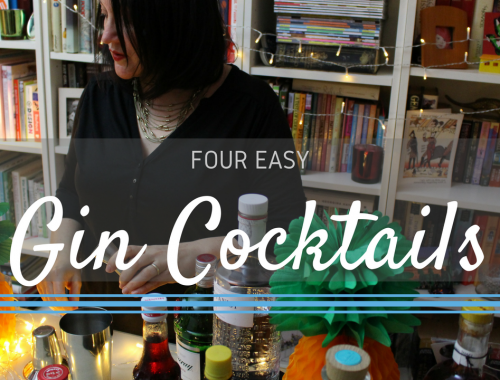 Four Easy Gin Cocktails by Beachhutcook
