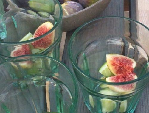 VA caipirinha cocktail muddled together with figs, lime and a cachaça base.A caipirinha cocktail muddled together with figs, lime and a cachaça base.